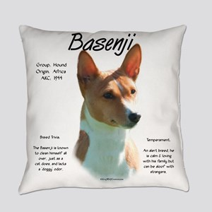 Basenji (chestnut) Everyday Pillow
