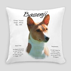 Basenji (chestnut) Everyday Pillow