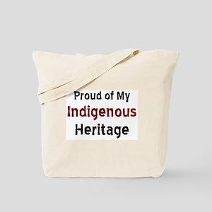 indigenous heritage Tote Bag