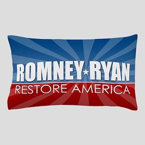 Romney Ryan Ray of Hope Pillow Case