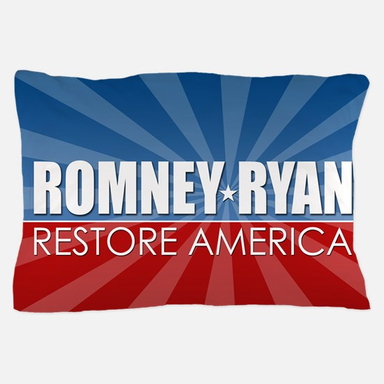 Romney Ryan Ray of Hope Pillow Case
