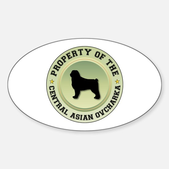 CAO Property Oval Decal