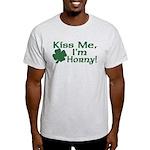 Kiss Me I'm Horny Light T-Shirt