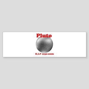 Pluto - Revolve in Peace Bumper Sticker