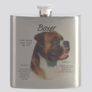 Boxer (natural) Flask
