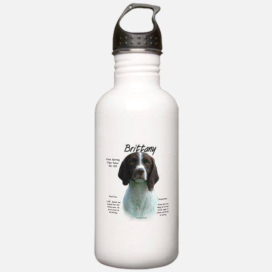 Brittany (liver) Water Bottle