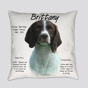 Brittany (liver) Everyday Pillow