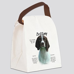 Brittany (liver) Canvas Lunch Bag