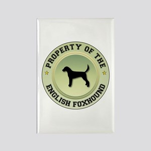 Foxhound Property Rectangle Magnet