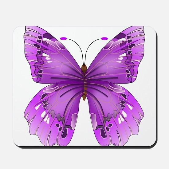 Awareness Butterfly Mousepad