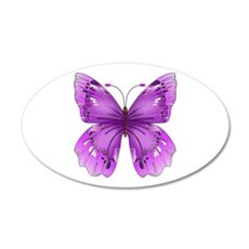 Awareness Butterfly Wall Decal
