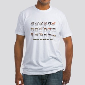 Greyhound Colors Fitted T-Shirt