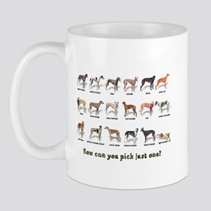 Greyhound Colors Mug