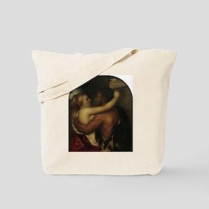 Faun and Nymph - Titian - c1540 Tote Bag