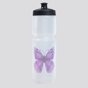 Awareness Butterfly Sports Bottle