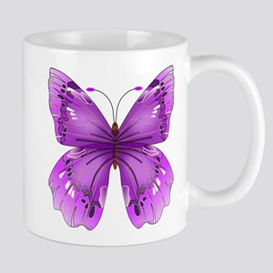 Awareness Butterfly Mugs