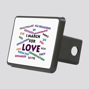 I March for Love Hitch Cover