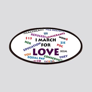 I March for Love Patch