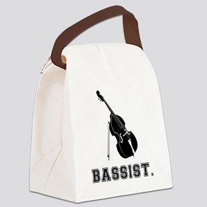 Bassist-01-a Canvas Lunch Bag
