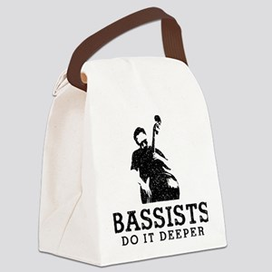 Bassist-Do-It-Deeper-01-a Canvas Lunch Bag