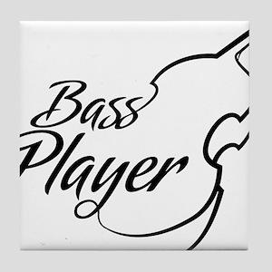 Bass-Player-01-a Tile Coaster