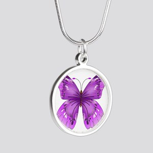 Awareness Butterfly Necklaces