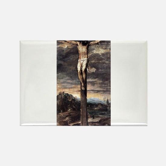 Crucifixion - Titian - c1565 Magnets