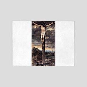 Crucifixion - Titian - c1565 5'x7'Area Rug