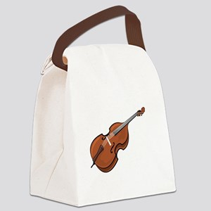 Ask-Me-About-the-Bass-01-b Canvas Lunch Bag