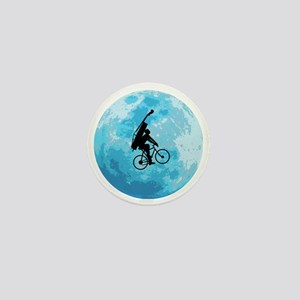 Cycling-in-Moonlight Mini Button