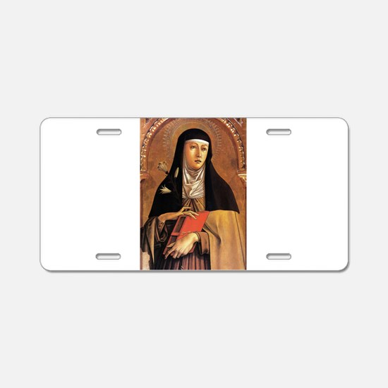 Clear - Carlo Crivelli - c1470 Aluminum License Pl
