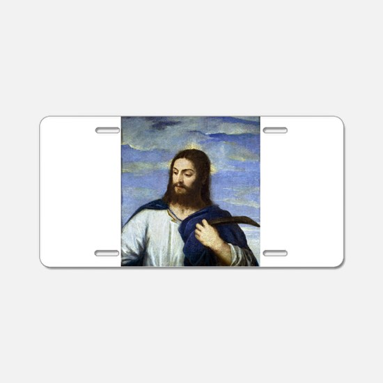 Christ, A Gardener - Titian, c1553 Aluminum Licens