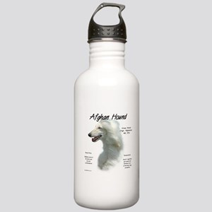 Afghan Hound (white) Stainless Water Bottle 1.0L