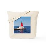 Menominee North Pierhead Light Tote Bag