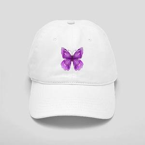 Awareness Butterfly Baseball Cap