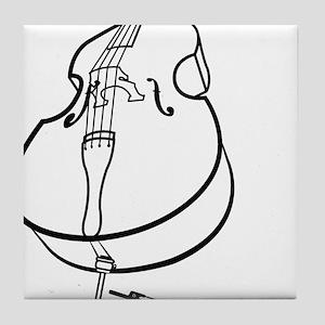 Double-Bass-10-a Tile Coaster