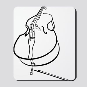 Double-Bass-10-a Mousepad