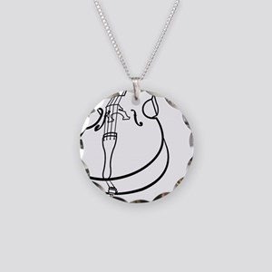 Double-Bass-10-a Necklace Circle Charm