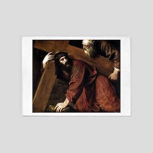 Christ Carrying the Cross - Titian - c1565 5'x7'Ar