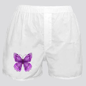 Awareness Butterfly Boxer Shorts