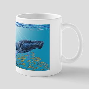 Humpback Whale & Dolphins Mug