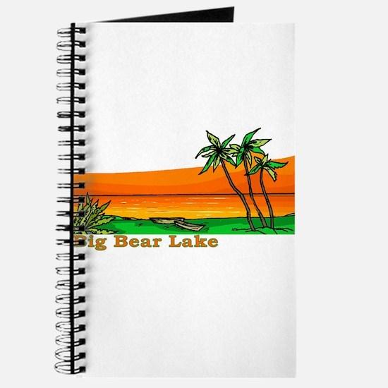 Unique Big bear lake Journal