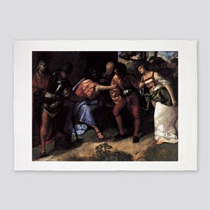 Christ and the Adultress - Titian - c1508 5'x7'Are