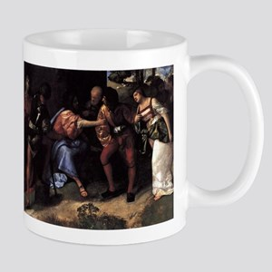 Christ and the Adultress - Titian - c1508 Mugs