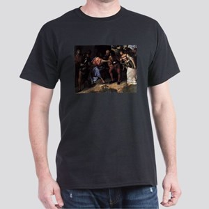 Christ and the Adultress - Titian - c1508 T-Shirt