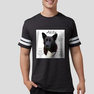 Akita (black) Mens Football Shirt