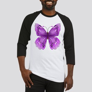 Awareness Butterfly Baseball Jersey
