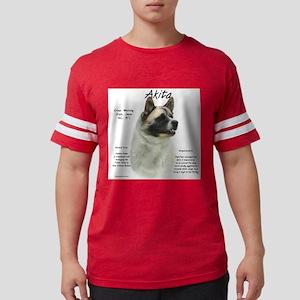 Akita (pinto) Mens Football Shirt