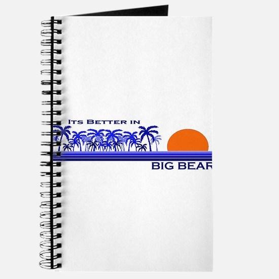 Funny Big bear lake Journal