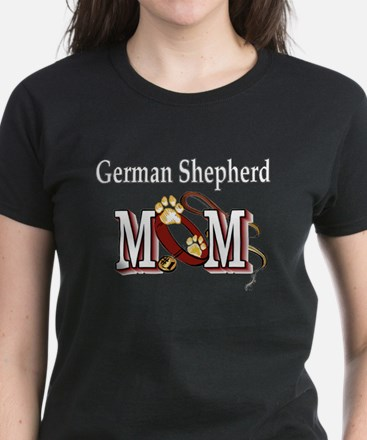 German Shepherd Gifts Women's Dark T-Shirt